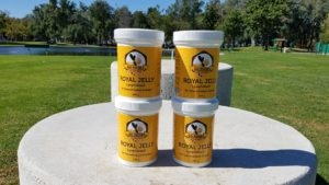 Four Bottles of Royal Jelly Powder